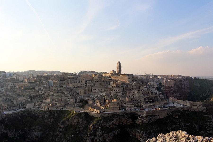 Panorama dal Belvedere di Murgia Timone