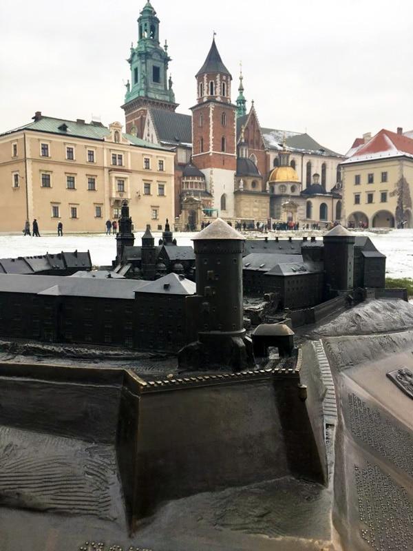Cracovia Castello e Cattedrale del Wawel