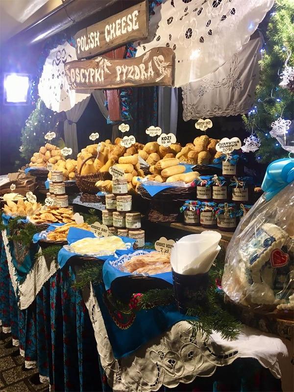 Cracovia Mercatini di Natale in Piazza del Mercato