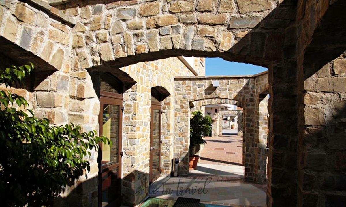 Ingresso di Villa Venus Resort & Spa - Hotel 4 stelle nel cuore del Cilento