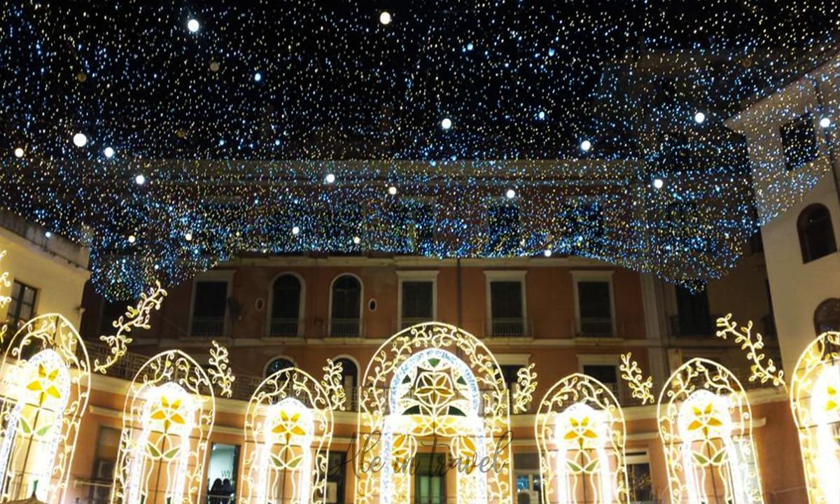 Luci d'Artista di Salerno: il Natale salernitano torna a brillare