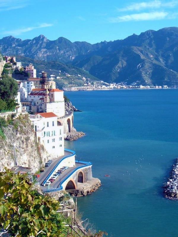Arrivare in Costiera Amalfitana in auto da Salerno