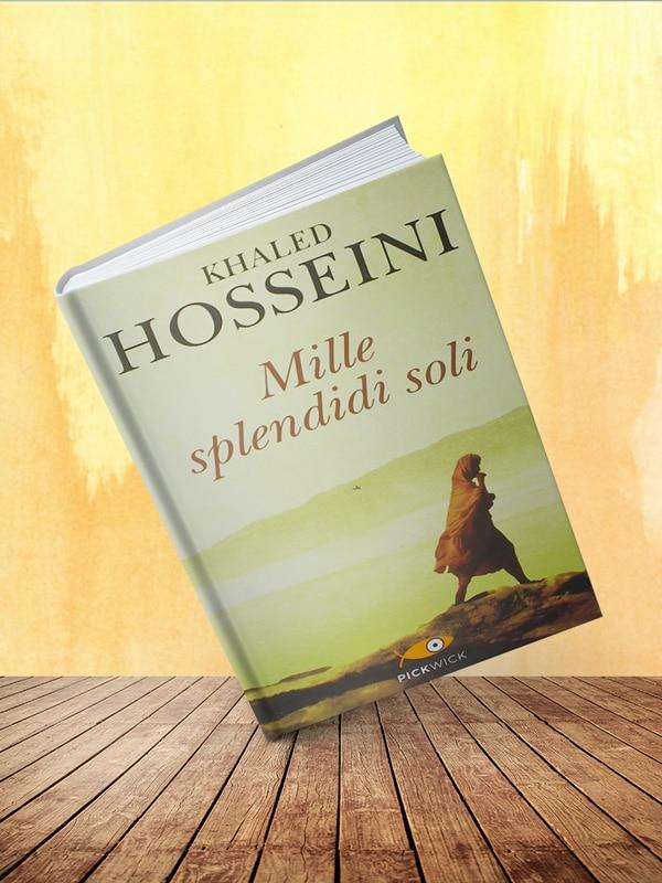 Copertina: Mille splendidi soli di Khaled Hosseini