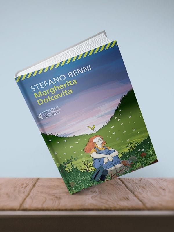 Mockup: Margherita Dolcevita di Stefano Benni, edito da Feltrinelli