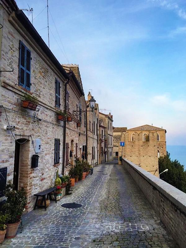 Borghi italiani da vedere nelle Marche: Torre di Palme (Fermo)
